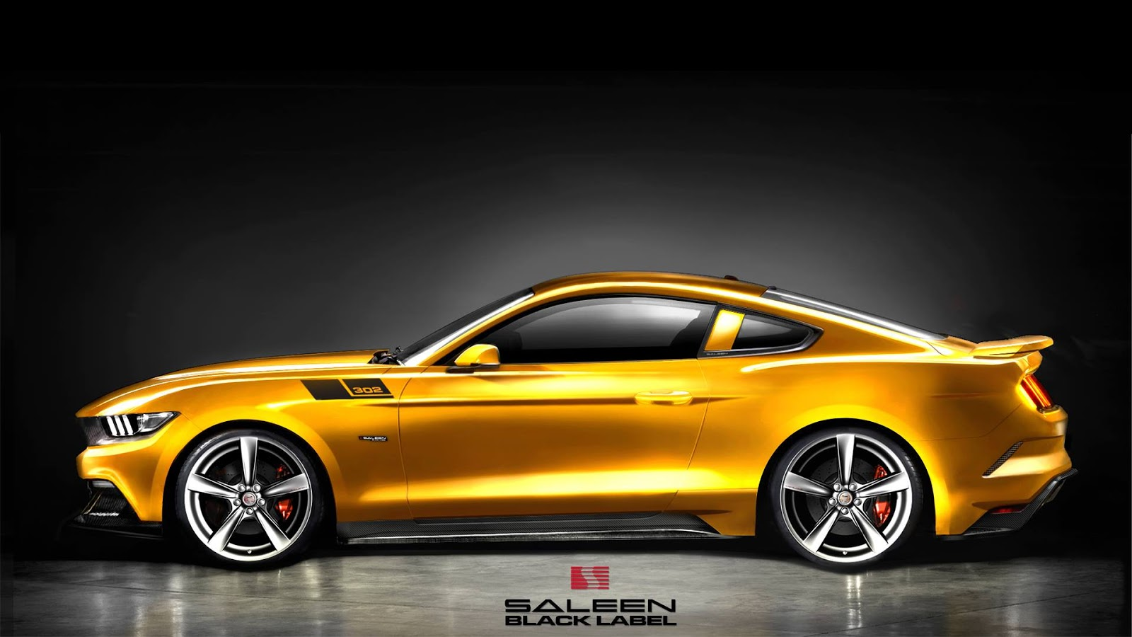 new image of 2015 saleen 302 mustang american muscle car guide. Black Bedroom Furniture Sets. Home Design Ideas