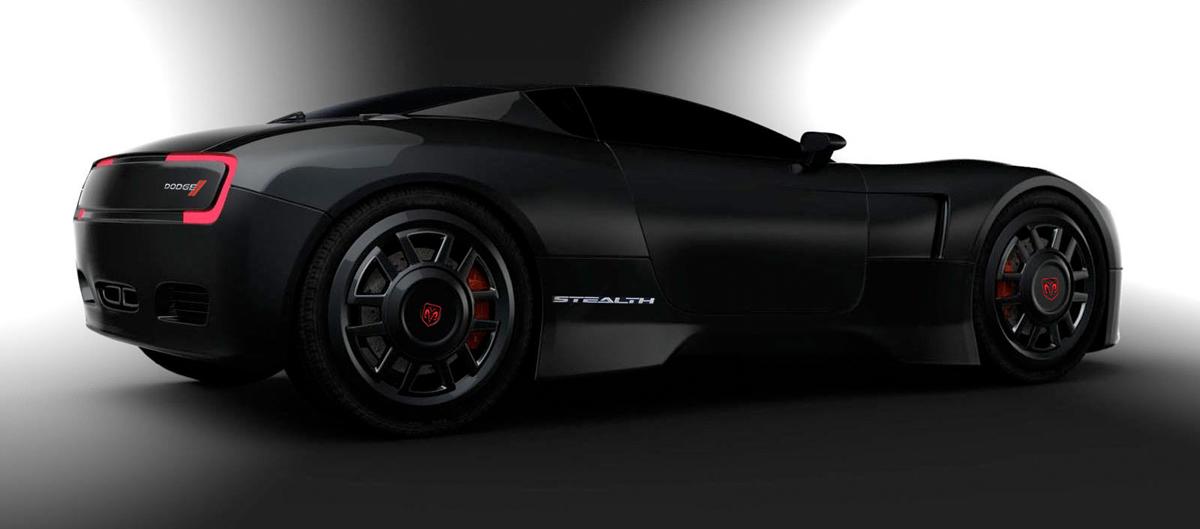 2015 Concept Dodge Stealth