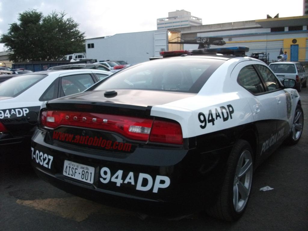 Dodge Charger V Police Car Uk