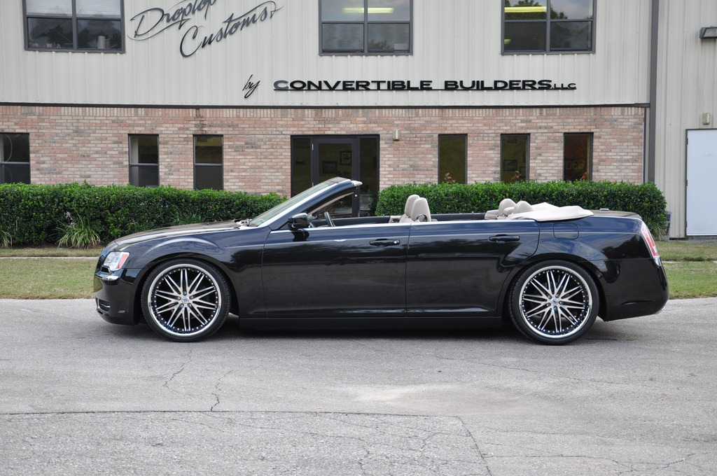 2012 Chrysler 300 Convertible on 2014 mustang all wheel drive
