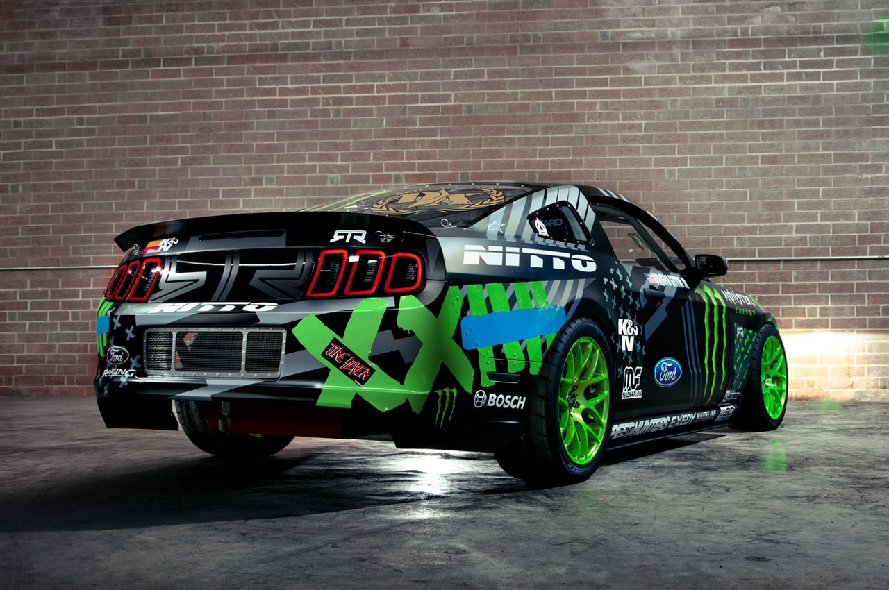 Monster Energy Nitto Tire Mustang Rtr Amcarguide Com