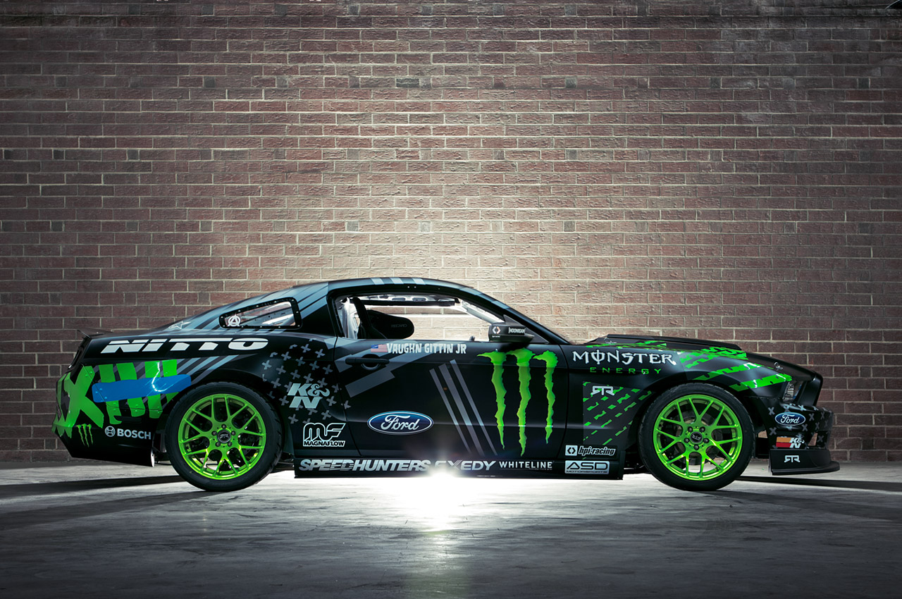 Monster Energy Nitto Tire 2014 Mustang Rtr Amcarguide