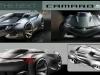 Futuristic 2015 Camaro Concept