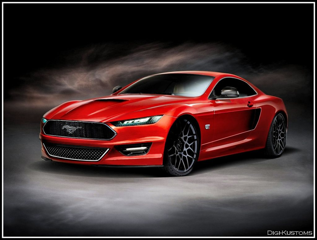 share some similarities with the current mustang look mustang renders