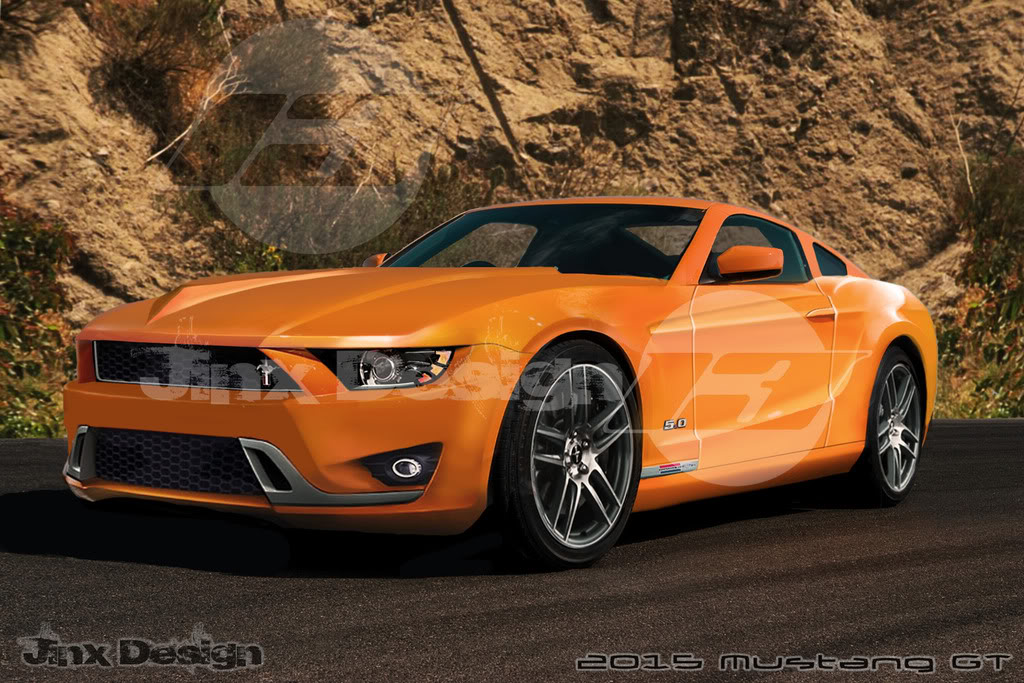 A few guesses on 2015 Mustang