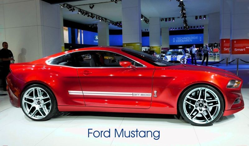 Acording to one anonymous source, the next generation 2015 Mustang ...