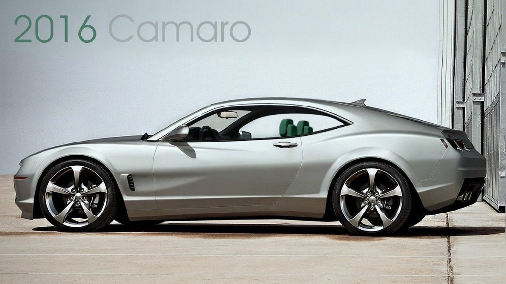 2016 camaro concept american muscle car for Concept car 2016