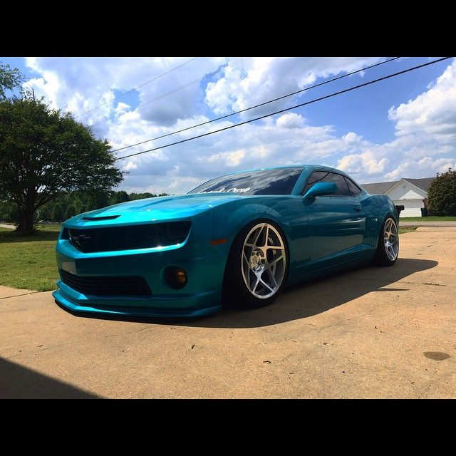 What Does Camaro Mean >> Bagged Camaro with 3SDM 0.08 R20s | AmcarGuide.com - American muscle car guide