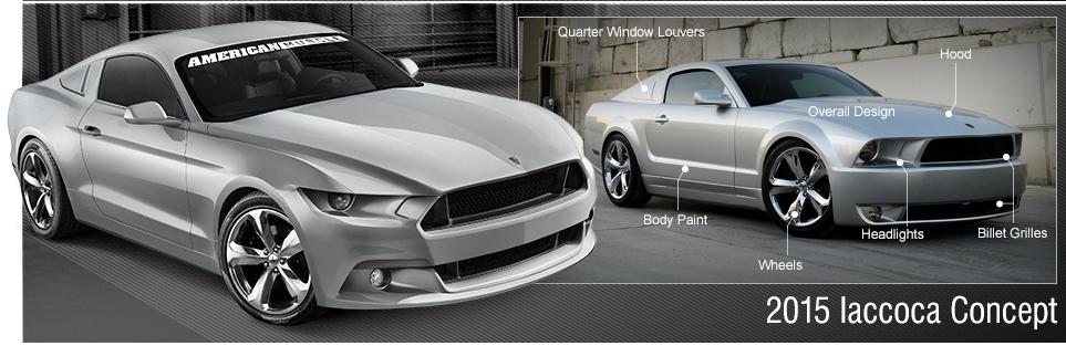 Iacocca Mustang 2015