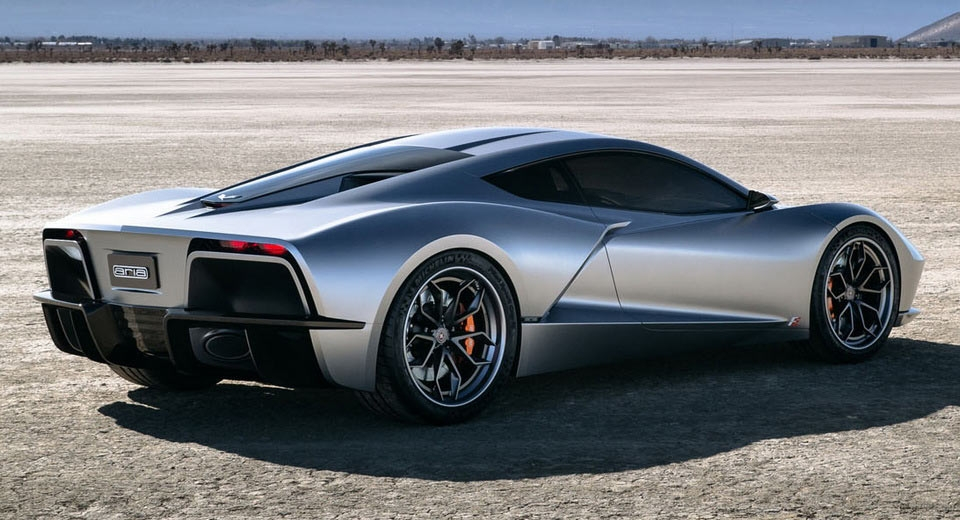 A Mid Engine Corvette Vision The Aria Concept