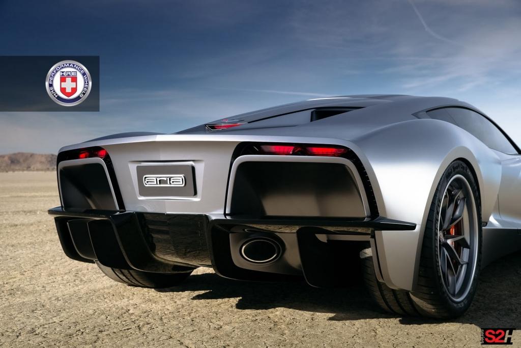 A Mid Engine Corvette Vision The Aria Concept