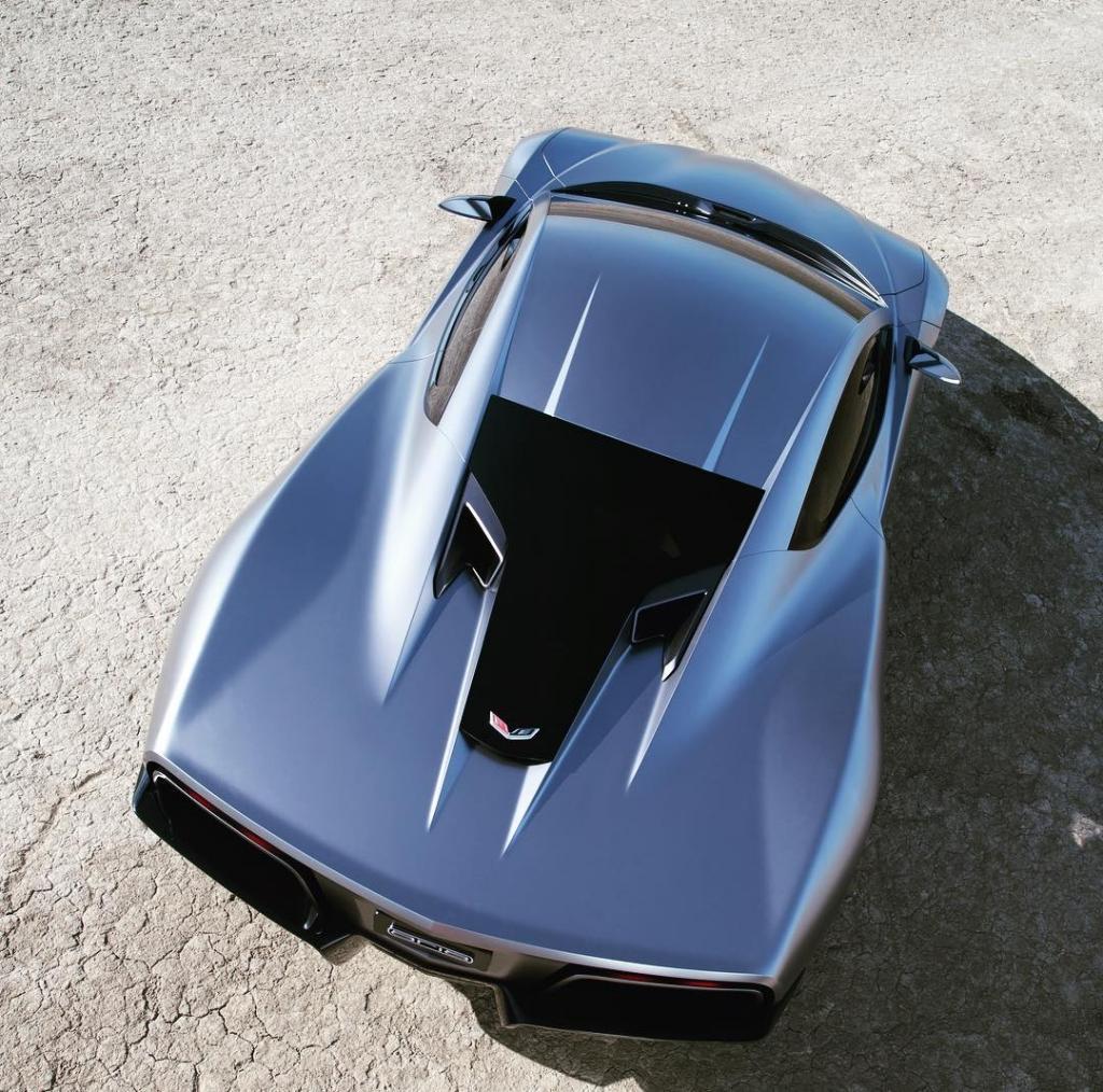 A Mid-engine Corvette vision – the Aria Concept ...