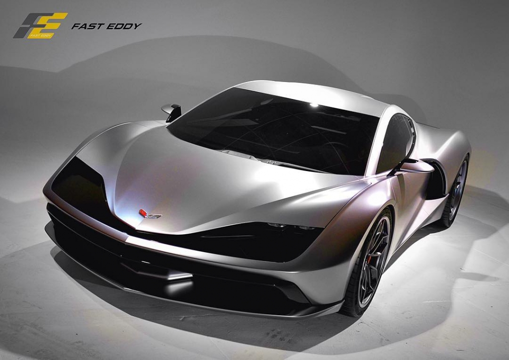 Aria Concept Mid Engine Corvette Hre Custom Wheels