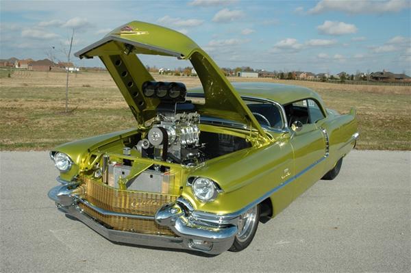 Badillac – custom Cadillac DeVille 1956 | AmcarGuide.com - American