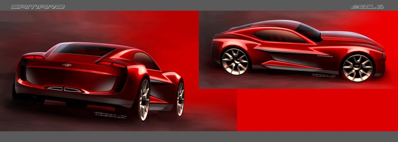 6th gen Camaro Concept   AmcarGuide.com - American muscle ...