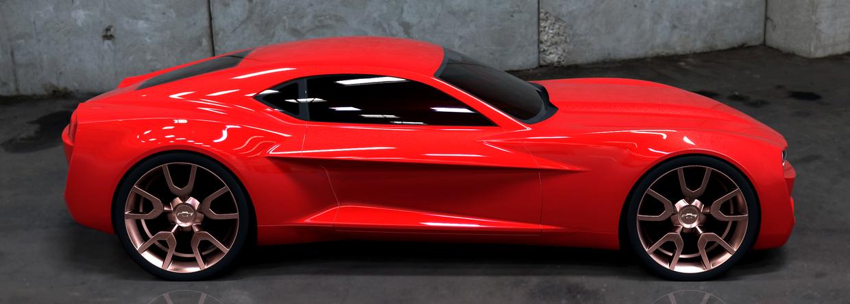 5Th Gen Mustang >> 6th gen Camaro Concept | AmcarGuide.com - American muscle car guide