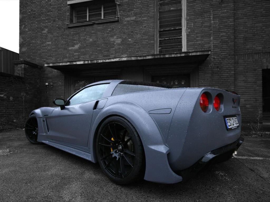 Widebody C6 Corvette Kit By Loma Blackforceone