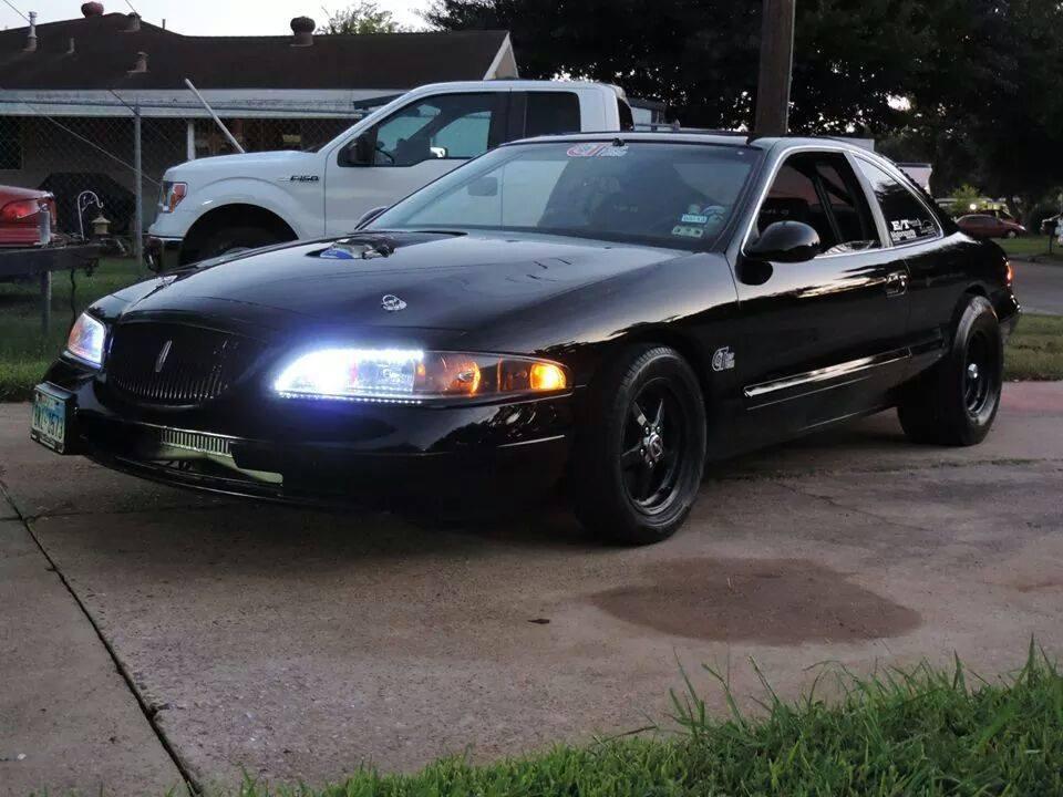 1998 Lincoln Mark VIII twin turbo by Black Mamba Speed ...