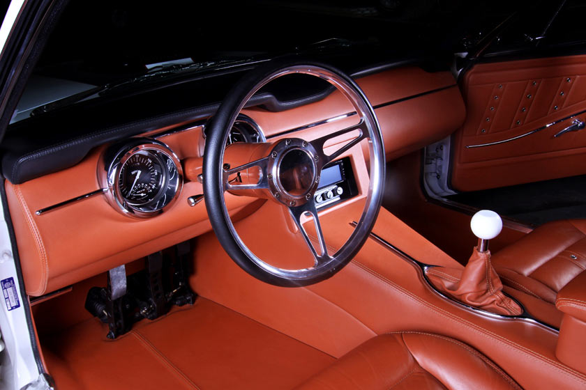 The boss 1968 mustang fastback for Auto interior design ideas