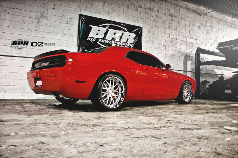 The exterior upgrades of the Big Power Racing 2013 Challenger feature