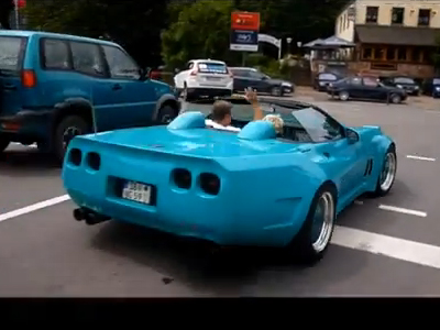 Extremely wide-bodied C4 Corvette | AmcarGuide com