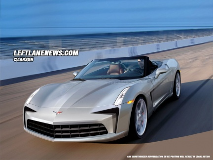 Corvette Stingray on 2013 Chevrolet Corvette C7 Rendering 08   New Cars Review For 2013