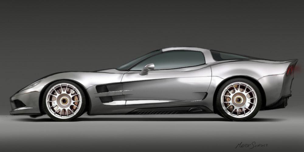 C7 Chevrolet Corvette renders  AmcarGuidecom  American muscle