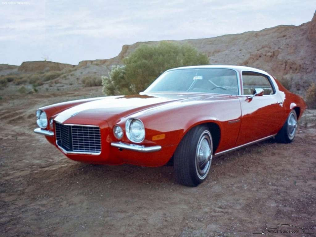Chevrolet Camaro 1970 1981 2nd Generation Amcarguide