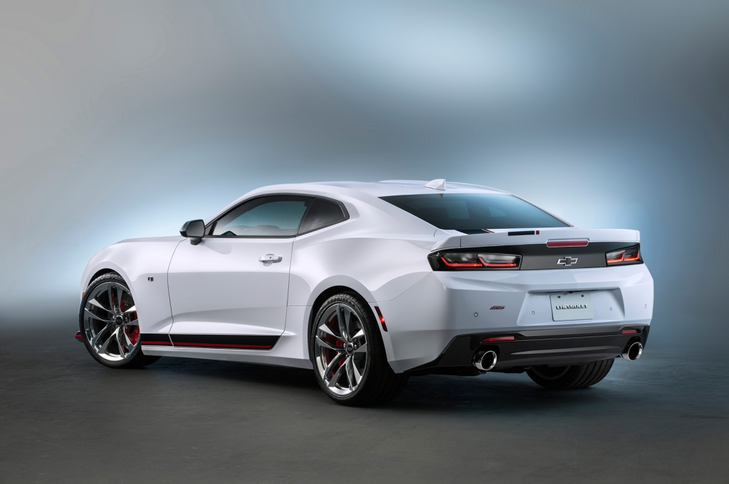 4 Custom Camaros That Chevy Brought To 2015 Sema