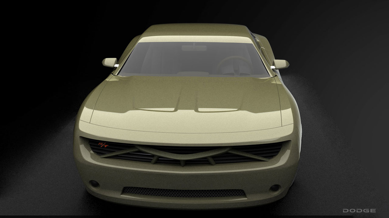 Dodge Charger Concept American Muscle Car Guide 2015 Alireza Saleh 01
