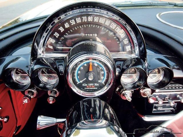 Chevrolet Corvette 1953 1962 C1 Amcarguide American Muscle