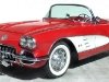 1959-chevroler-red-convertible-corvette