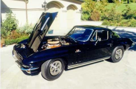Corvette Stingray on Corvette C2 Stingray