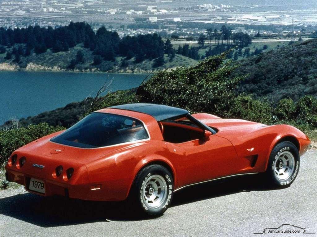 Chevlolet Corvette Coupe C Back