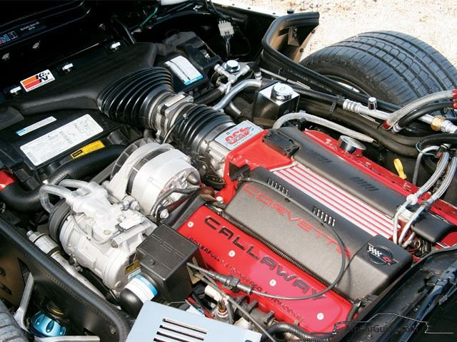 Chevrolet Corvette C Grand Sport Edition Engine
