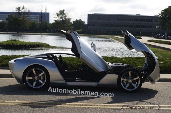 Corvette Stingray concept  AmcarGuidecom  American muscle car guide