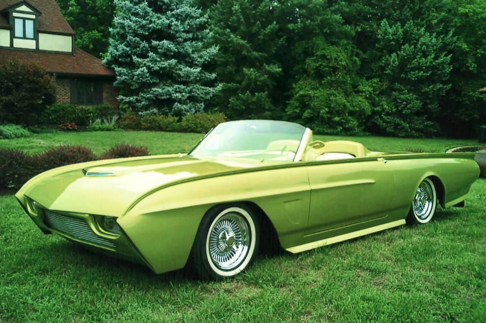 Custom Classic, Classic Cars, Custom Cars, Ford Thunderbird, 1963 Ford