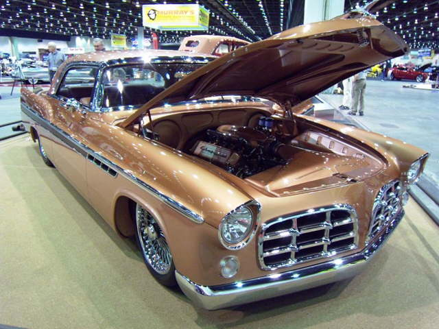 Custom 1956 Chrysler 300B  AmcarGuidecom  American muscle car guide