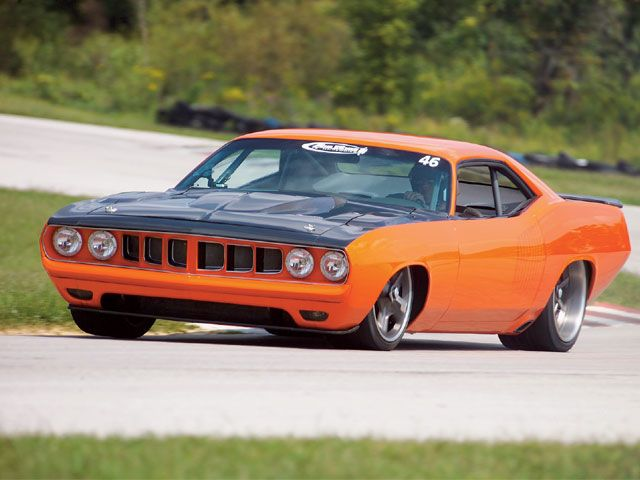 Custom G Force 1971 Plymouth Cuda Amcarguide Com
