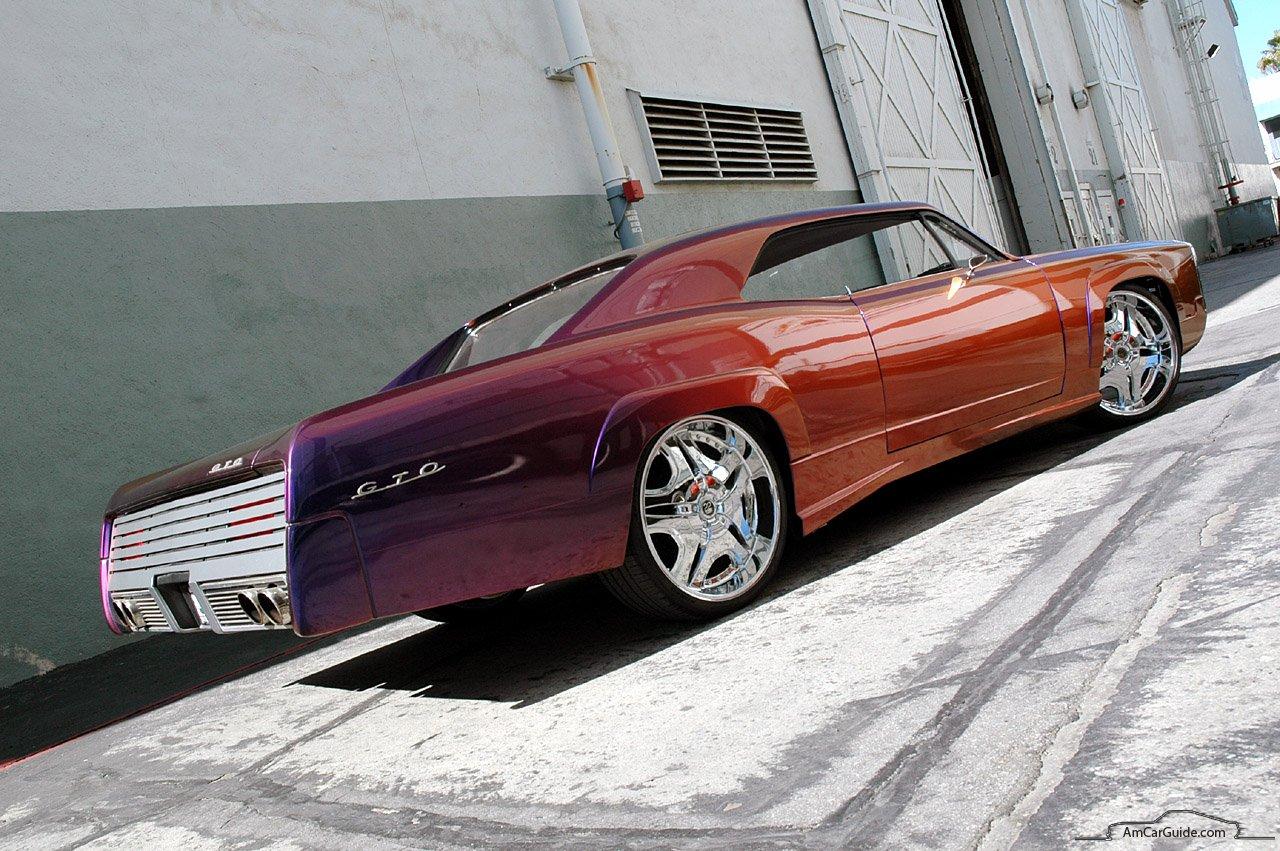 Custom 1967 Pontiac GTO Movie Car