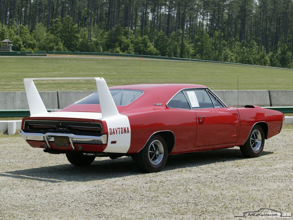Dodge dodge charger with wing : Dodge Charger History: 1964-2009 | AmcarGuide.com - American ...