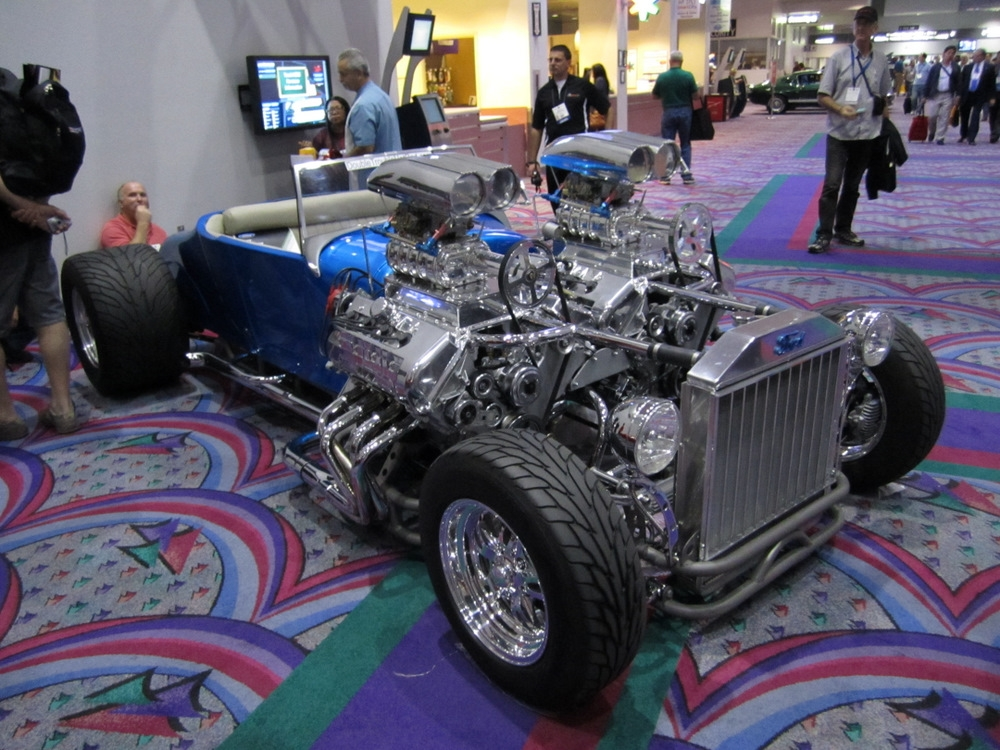 Double Trouble Hot Rod model-t rods ford blower engine ...  |Double Trouble Hot Rod