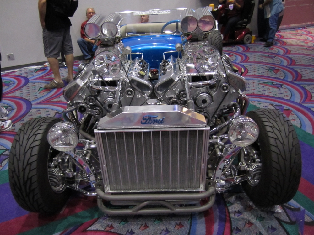 Ford T Model Hot Rod Double Trouble