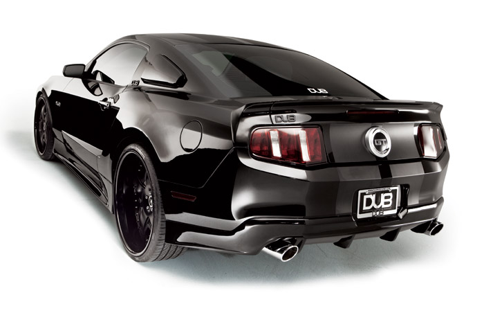 2011 Ford Mustang DUB Widebody | AmcarGuide.com - American ...