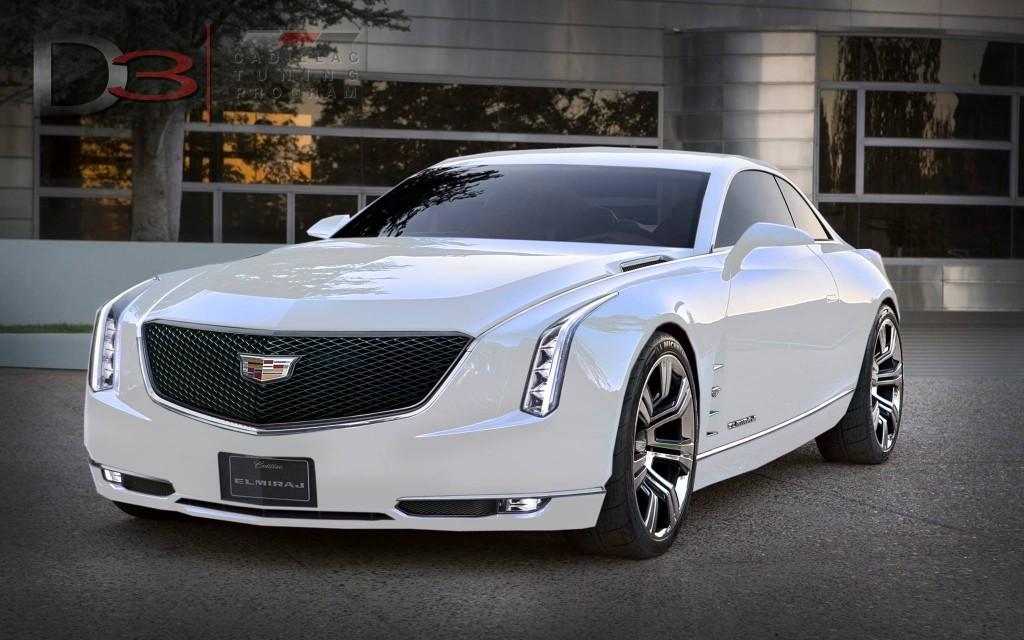 Cadillac Elmiraj In White Amcarguide Com American
