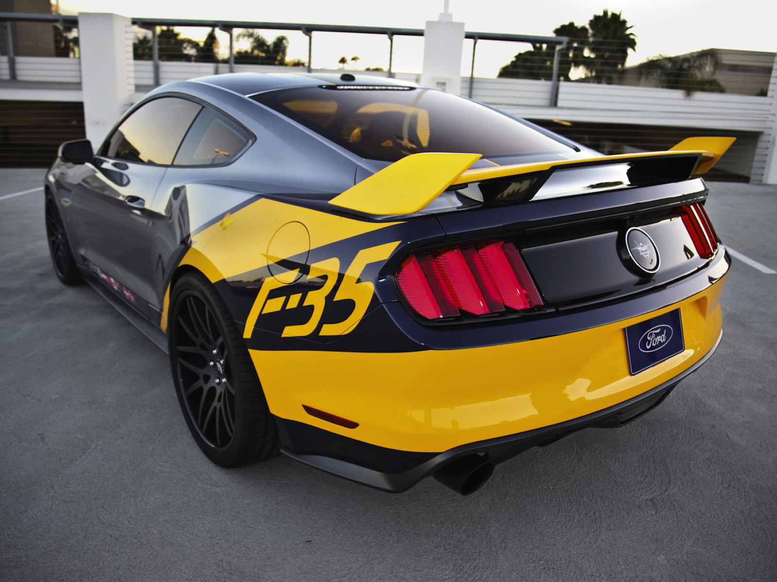 2015 Ford Mustang F-35 Lightning II revealed | AmcarGuide.com