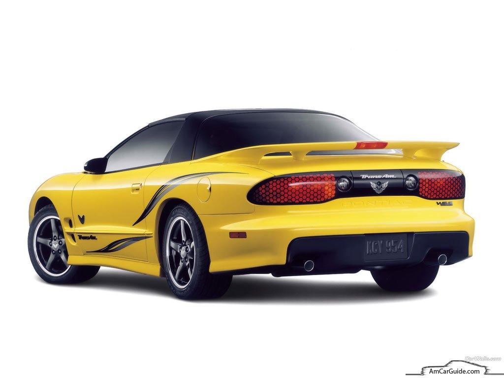 Pontiac Firebird: 1992-2002,