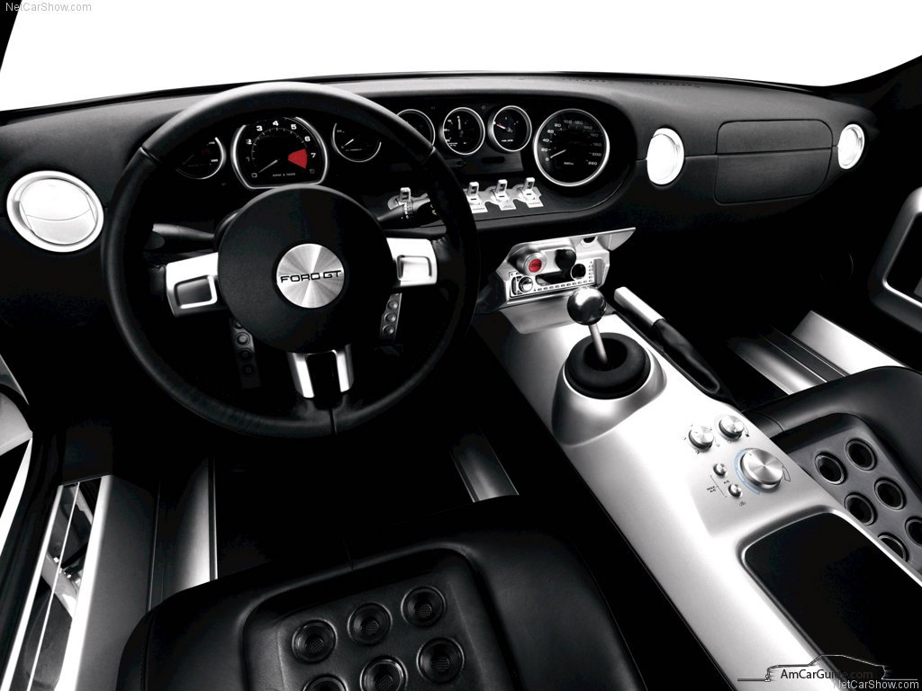 Ford Gt  Interior Dashboard