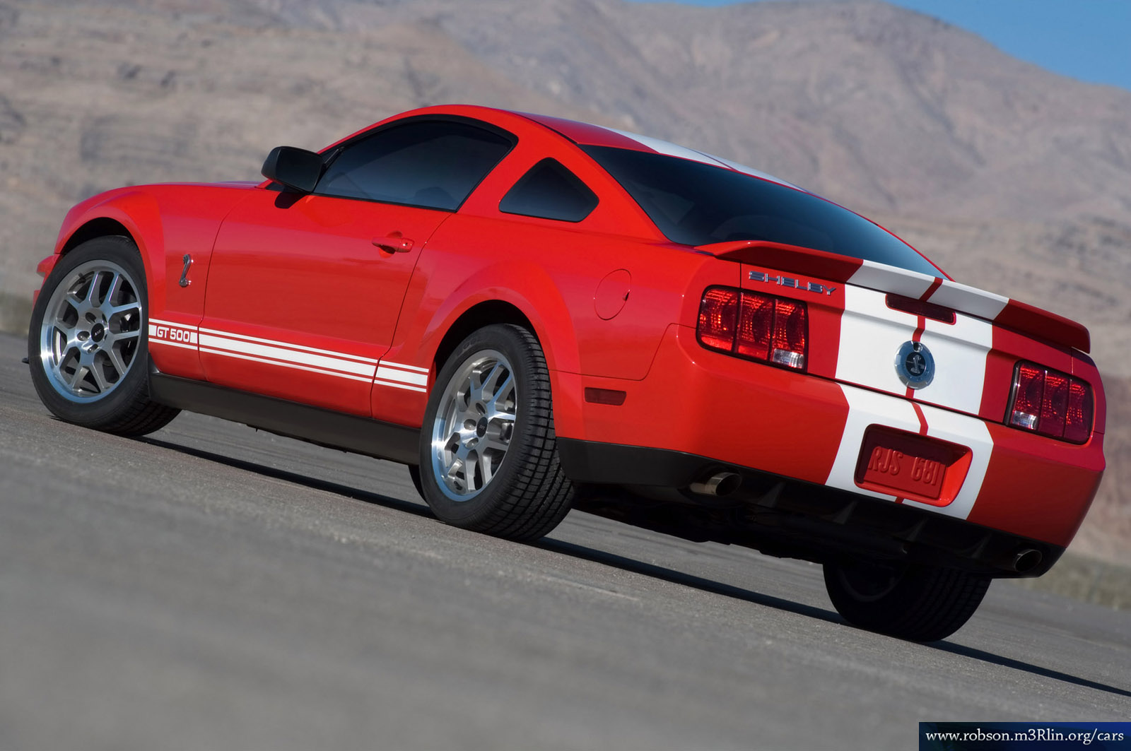 Ford Mustang Cobra 2005 2007 Ford Shelby GT500