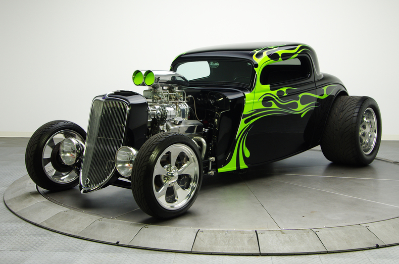 1934 Ford Coupe Hot Rod Amcarguide Com American Muscle